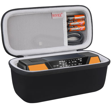 BOVKE Travel Case for FosPower Emergency Portable Weather Radio