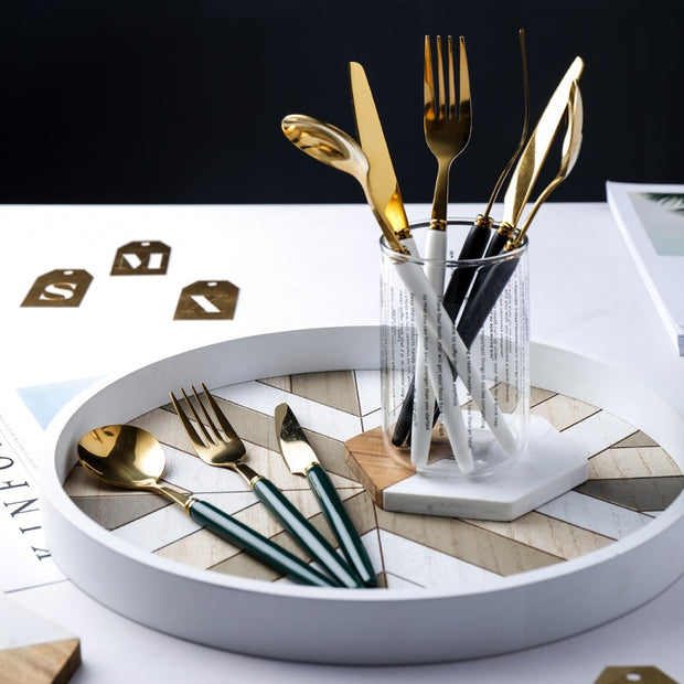 Gold Coloured Flatware