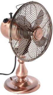 Table Fan - Copper