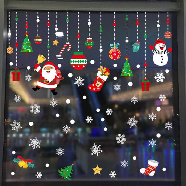 Christmas Snowflake Window Sticker