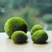 1 Pc Artificial Moss Stone - Simulation Fairy Garden Decor Miniatures Bonsai Terrarium Succulent Gnomes Fake Moss Home Decoration