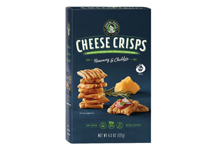 JW Macy Rosemary & Cheddar Cheese Crisps
