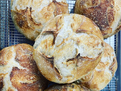 Green Heart Sourdough Boule - available Friday & Saturday