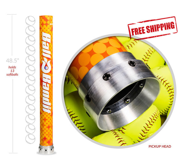 Softball Ball-Bandit (Orange)
