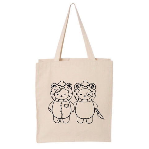 Strawberry Bears Tote Bag