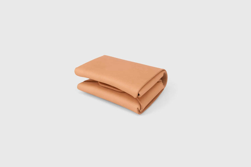 soft leather small minimal wallet