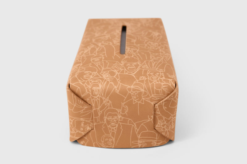 Leather tissue box limited version