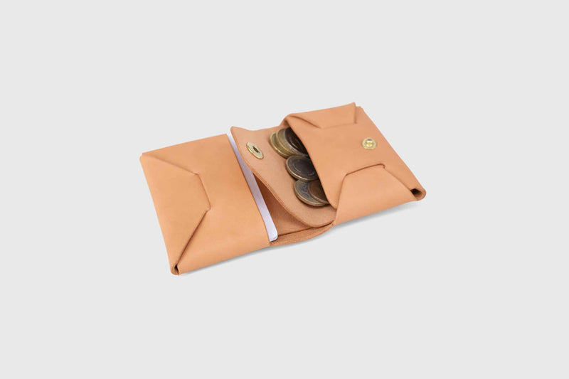 Novillo slim wallet for coins
