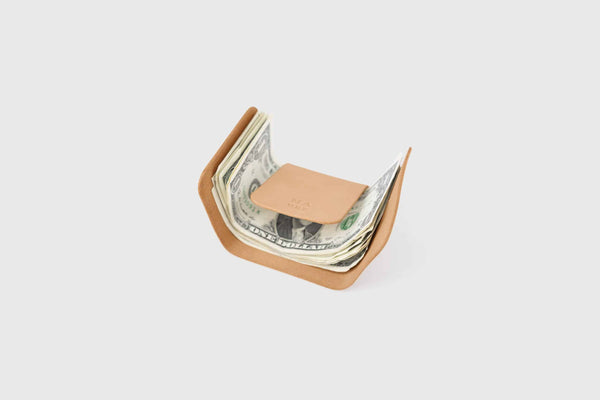 Novillo leather banknote holder
