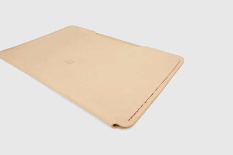 iPad pro 10 inch hand stitched leather sleeve