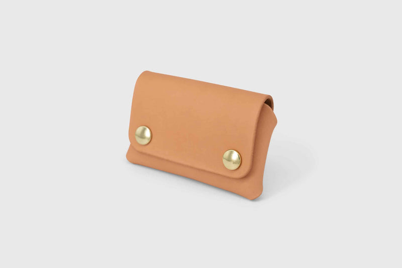 Soft leather business card holder