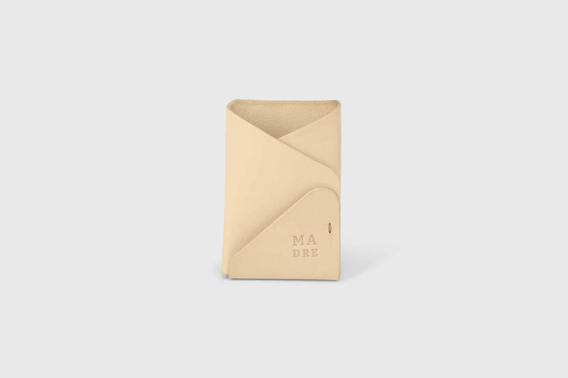 Vegtan leather card holder