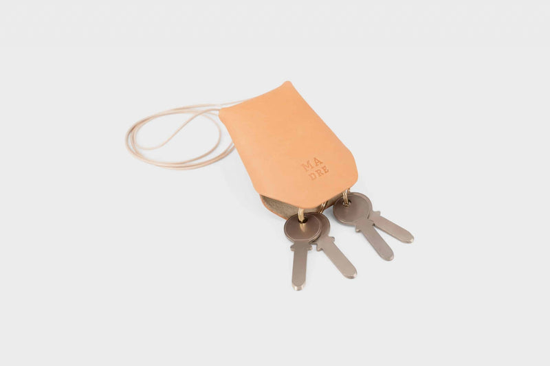 Leather Key Hanger Brown