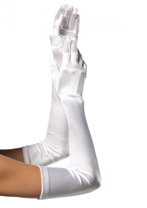 Manusi Leg Avenue Extra Long Satin Gloves