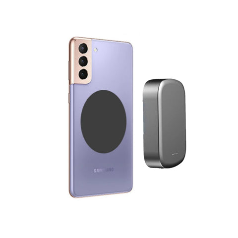 Magnetic wireless charger work power bank