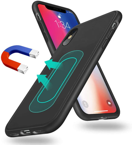 Magnetic case for iPhone X and Xs
