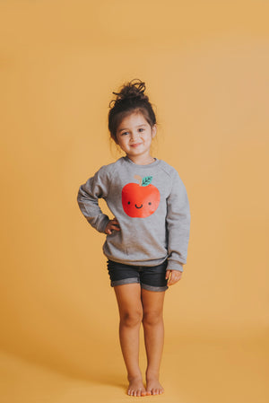 Kawaii Apple Sweatshirt