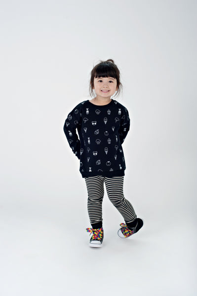 Kawaii All Over Print Sweatshirt
