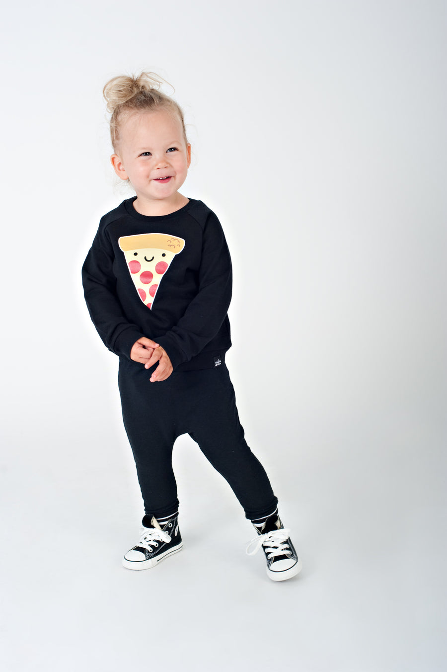 Kawaii Pizza Sweatshirt
