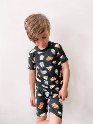 Kawaii Food Allover Print Short Pyjama Set