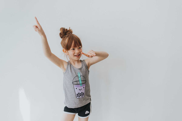 Kawaii Bubble Tee Tank Top