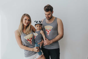 Kawaii Pizza Tank Top Adult Unisex
