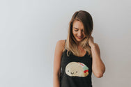 Kawaii Taco Tank Top Adult Unisex