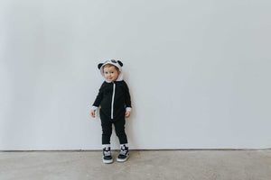 Kawaii Panda Hooded Romper