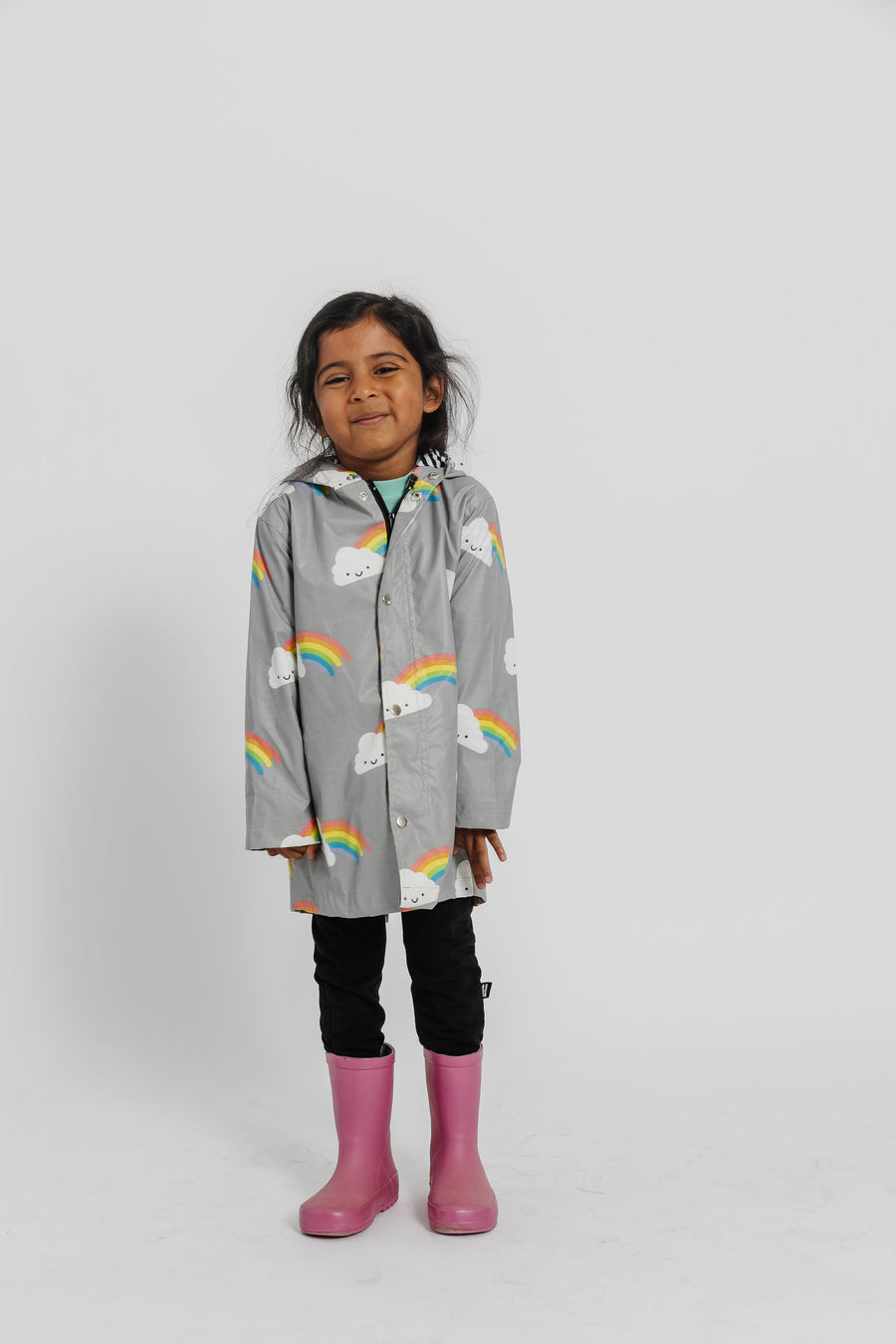 Kawaii Rainbow Raincoat