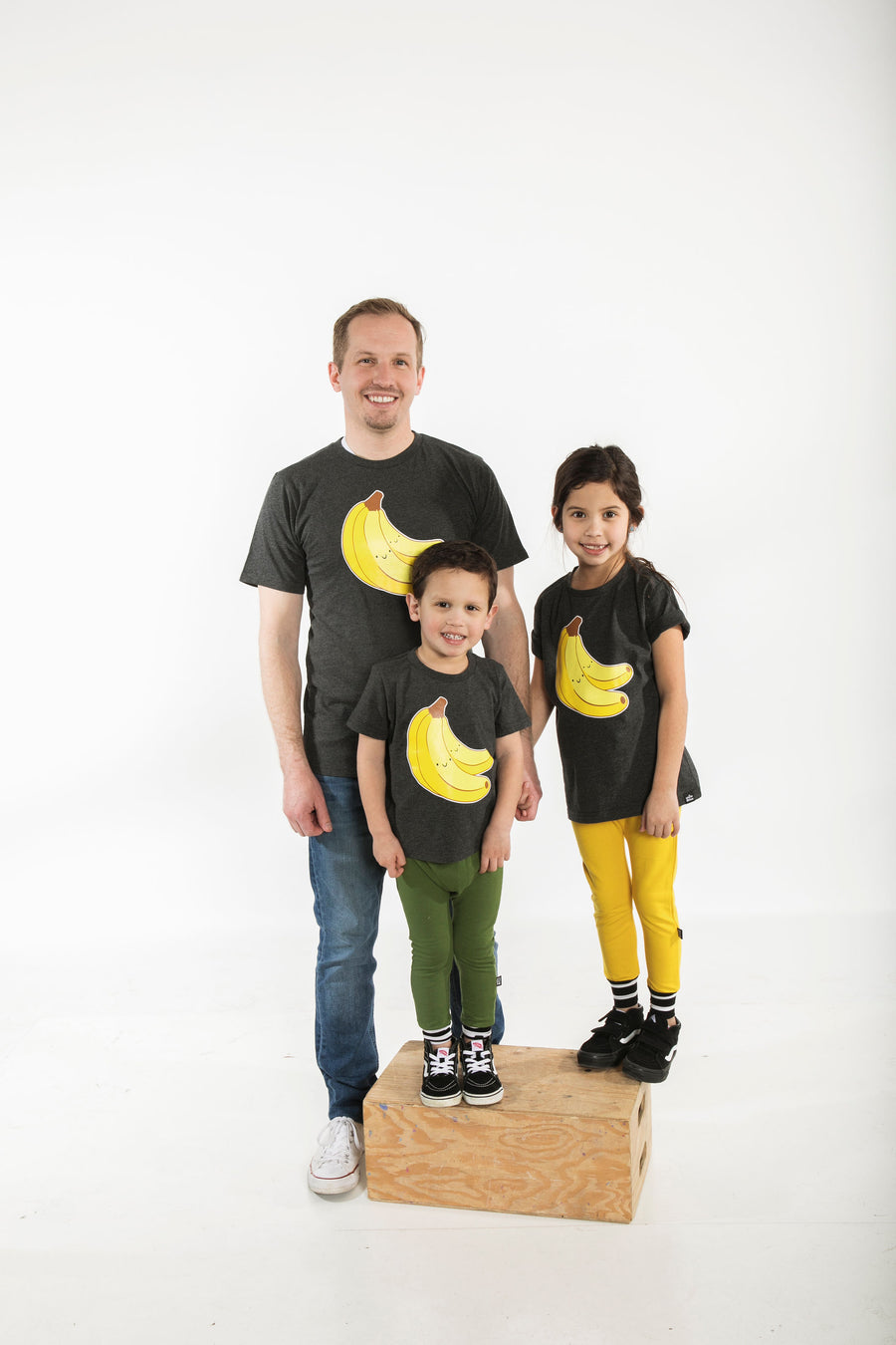 Kawaii Banana Bunch T-Shirt Adult Unisex
