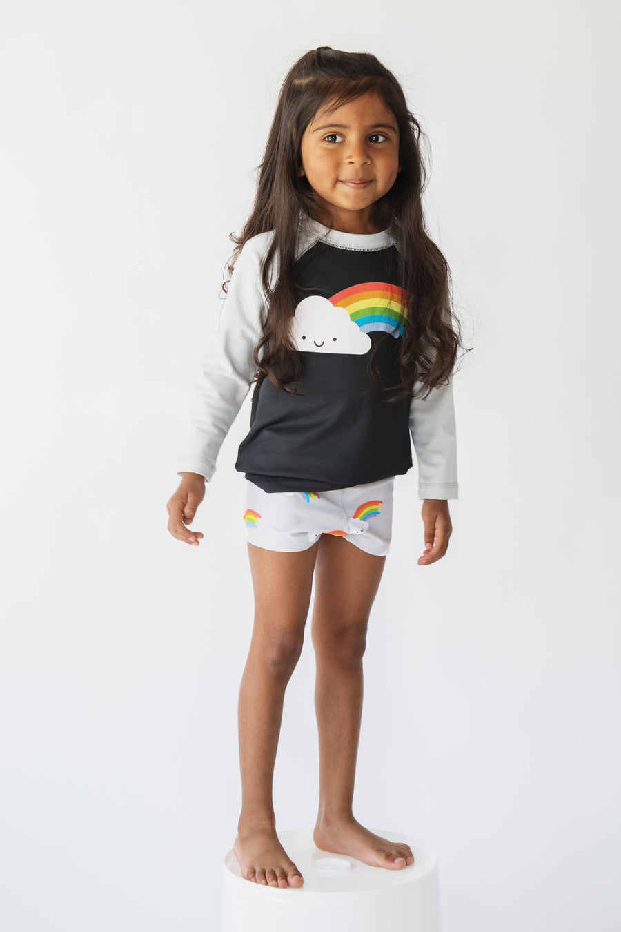 Kawaii Rainbow Rashguard