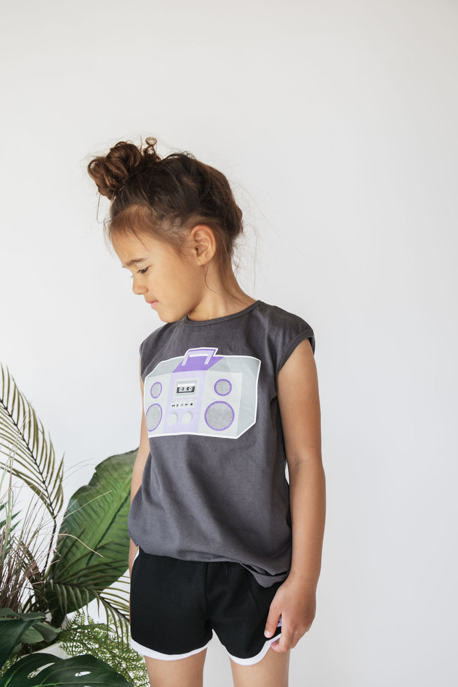 Boom Box Sleeveless T-Shirt