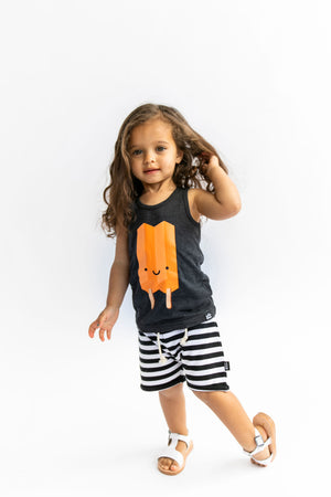 Kawaii Ice Pop Tank Top - Orange