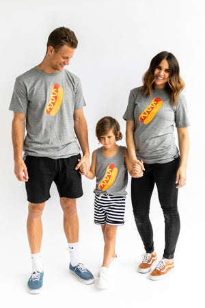 Kawaii Hot Dog T-Shirt Adult Unisex