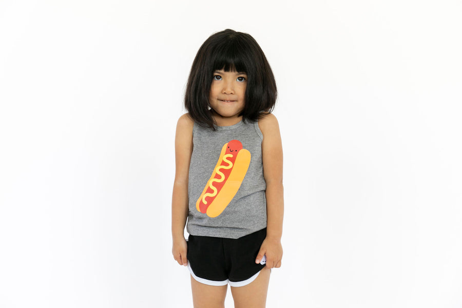Kawaii Hot Dog Tank Top