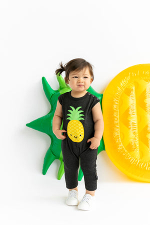 Kawaii Pineapple Romper