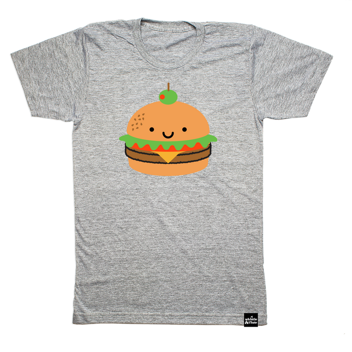 Kawaii Burger T-shirt Adult Unisex