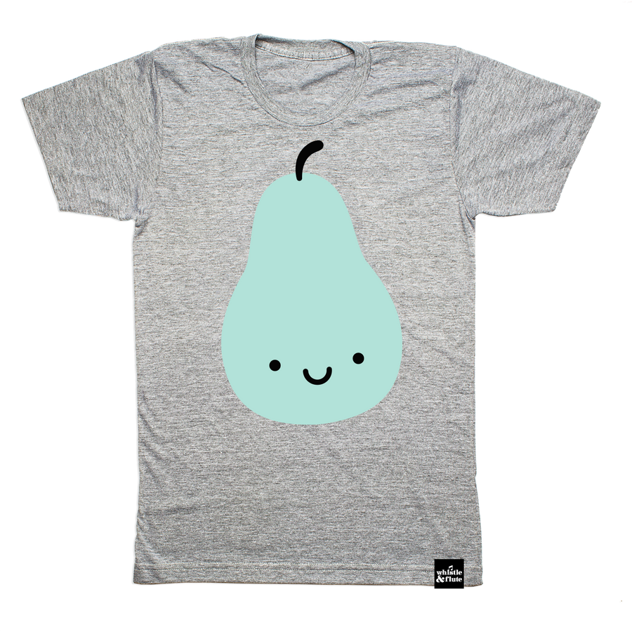 Kawaii Pear T-shirt Adult Unisex