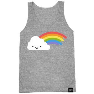 Kawaii Rainbow Tank Top Adult Unisex