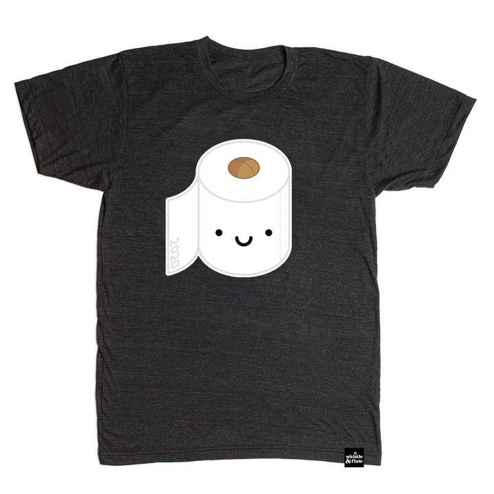 Kawaii Toilet Paper T-shirt Adult Unisex*
