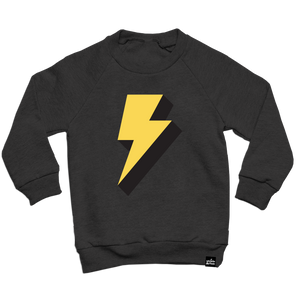 Lightning Bolt Sweatshirt Adult Unisex