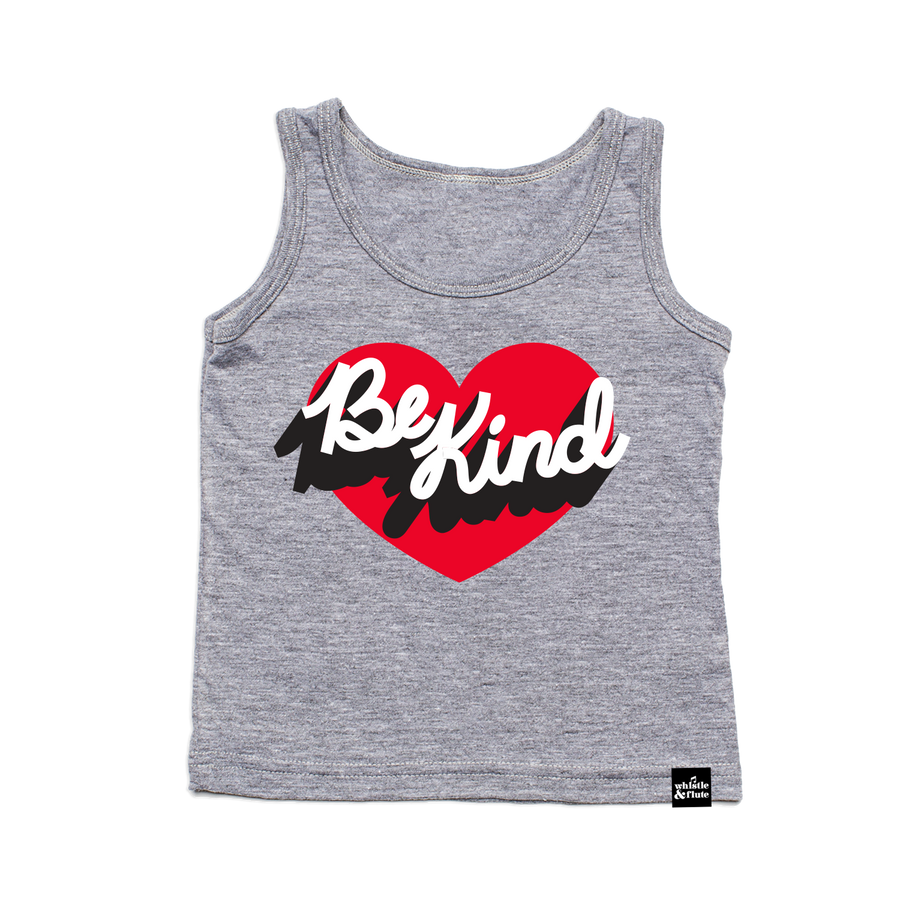 Be Kind Heart Tank Top