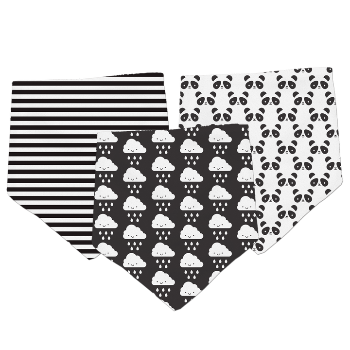 Kawaii Bandana Bibs 3-Pack