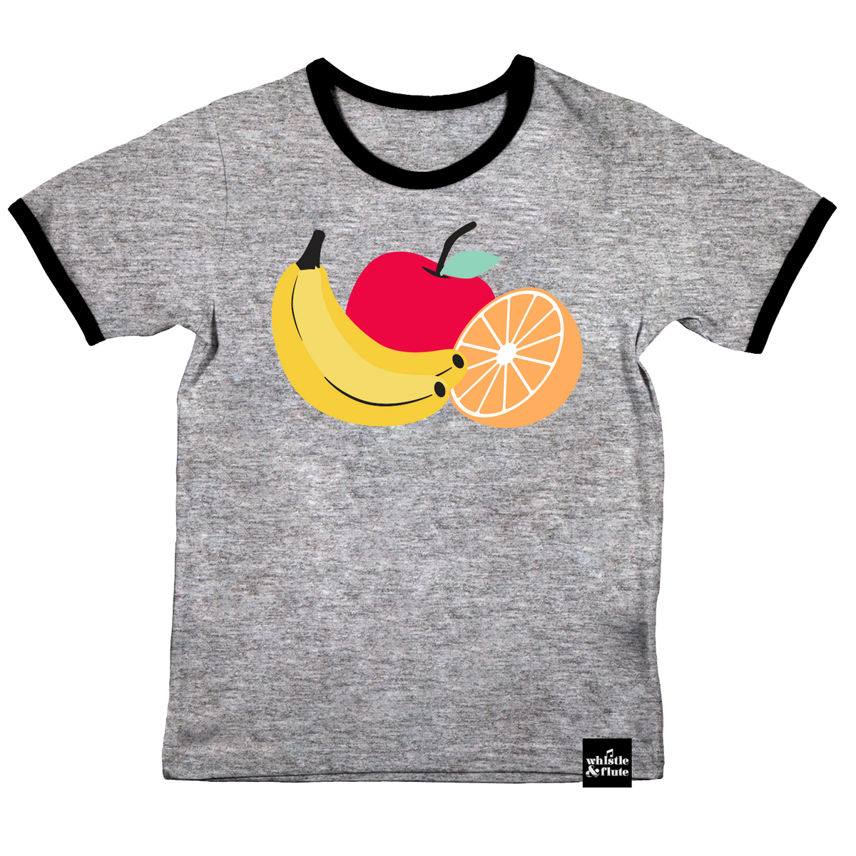 Fresh Fruit Ringer T-shirt