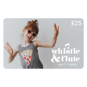 $25 Whistle & Flute Clothing Gift Card
