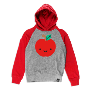Kawaii Apple Hooded Sweatshirt