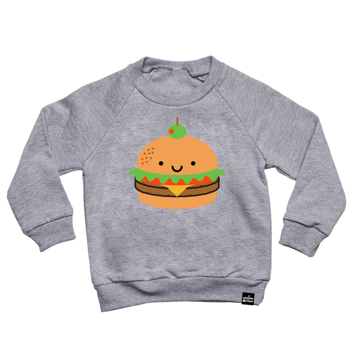 Kawaii Burger Sweatshirt