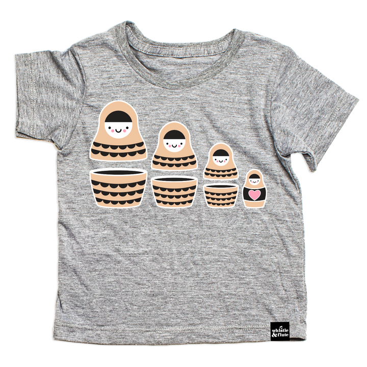 Kawaii Russian Doll T-Shirt