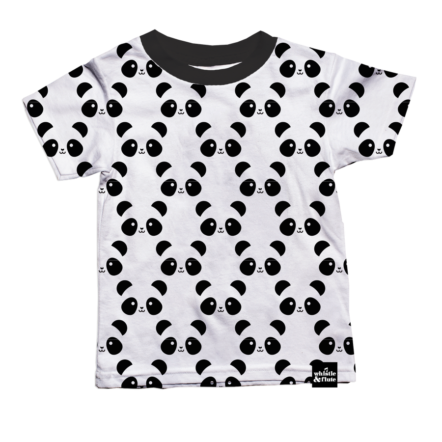 Kawaii Panda Allover Print T-Shirt