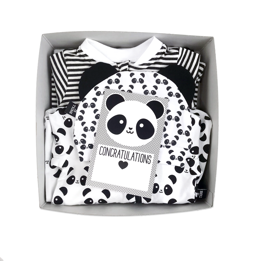 Kawaii Panda Baby Gift Box
